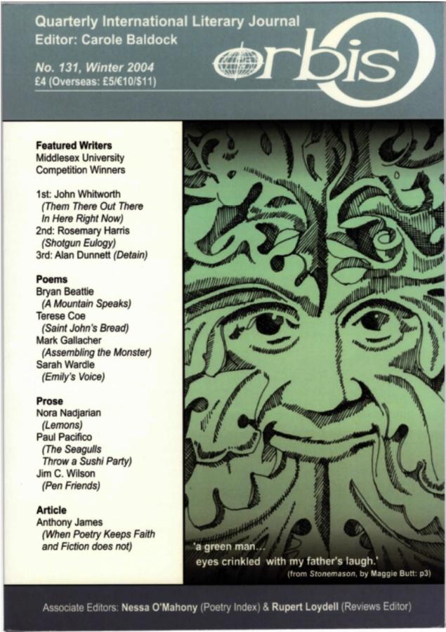 Orbis Quarterly International Literary Journal No 131